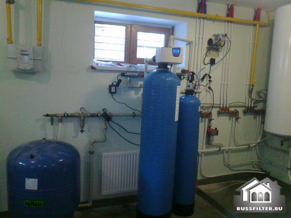 Система для очистки воды с параметрами: железо до 3 мг/л
